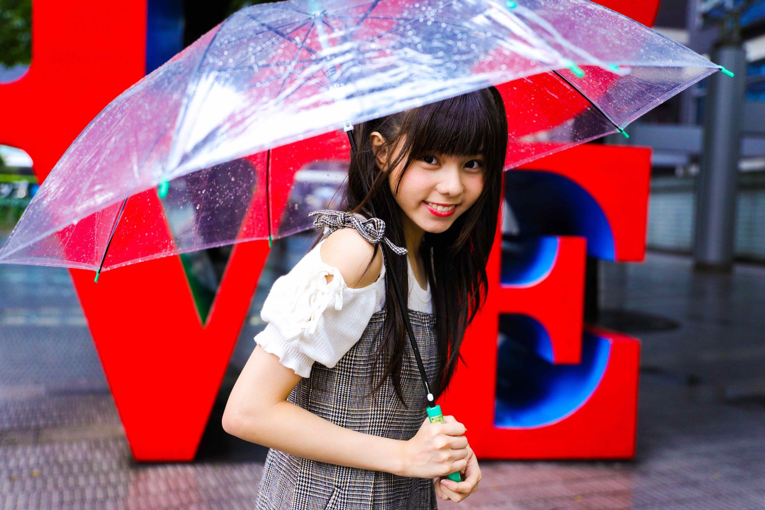 Umbrella Girl(大森莉緒)_180927